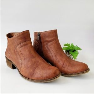 Lucky Brand | Brolley Brown Booties Sz 7.5